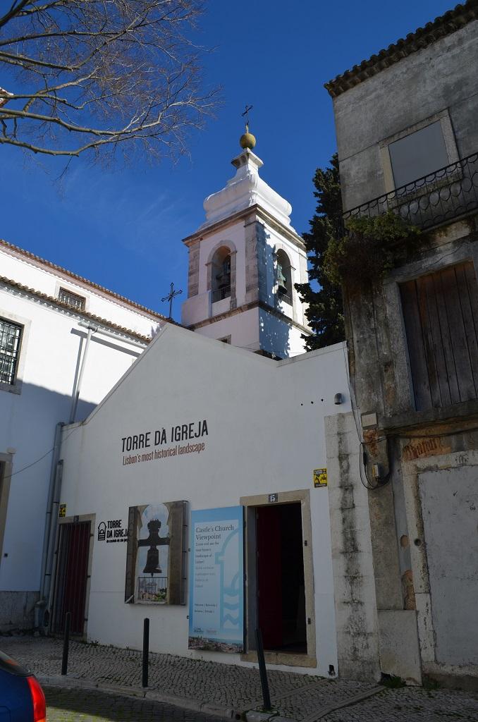 Torre da Igreja Lisbona