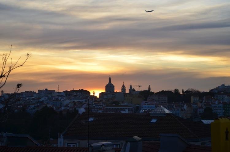 tramonto Lisbona