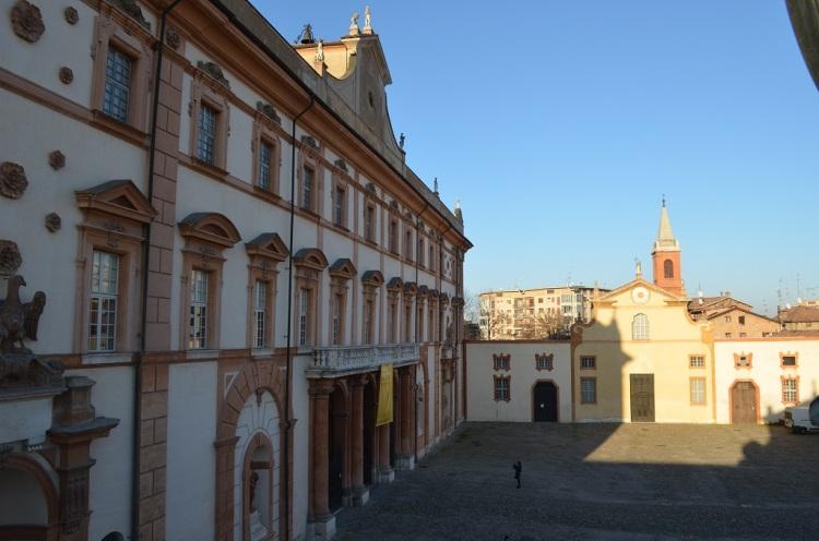 Ingresso del Palazzo ducale di Sassuolo
