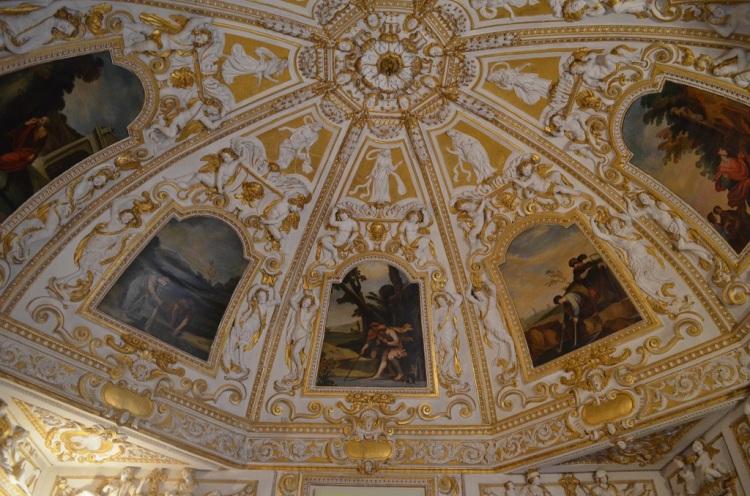 Affreschi e stucchi - Palazzo ducale di Sassuolo