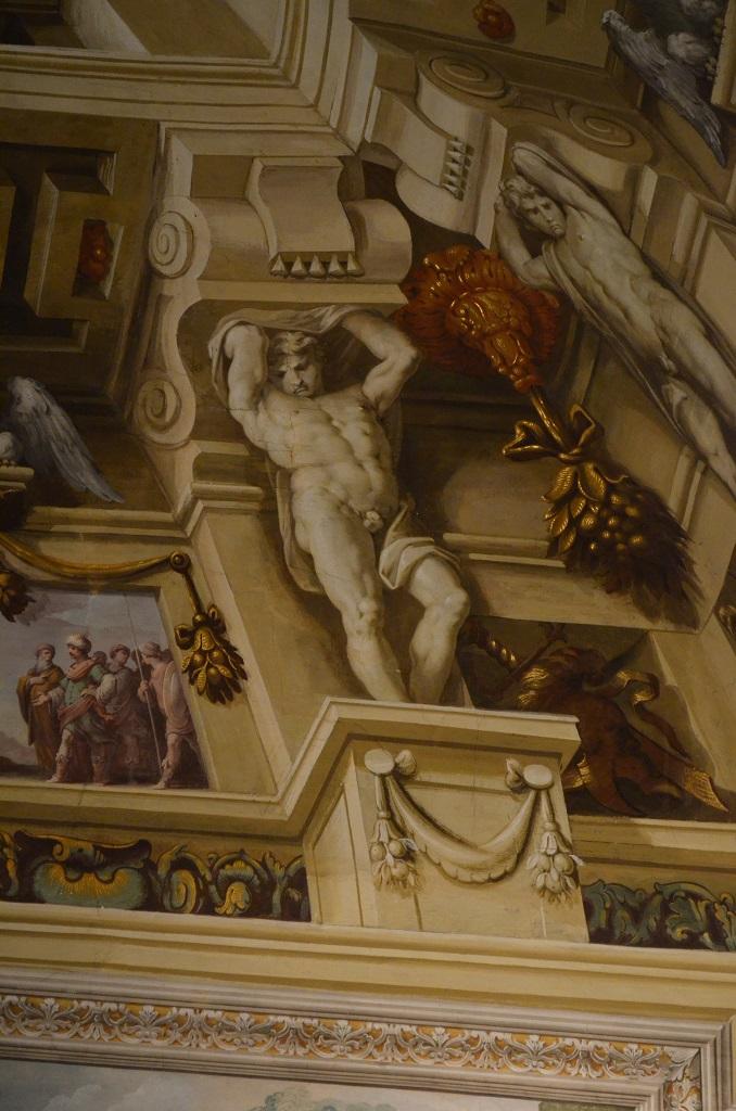 Affreschi all'interno del Palazzo di Sassuolo