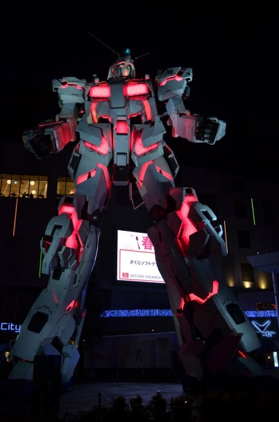 Gundam by night