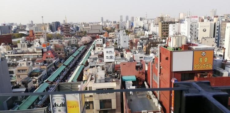 Panorama di  Asakusa