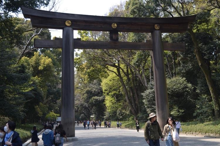 Portale al Meiji-jungu