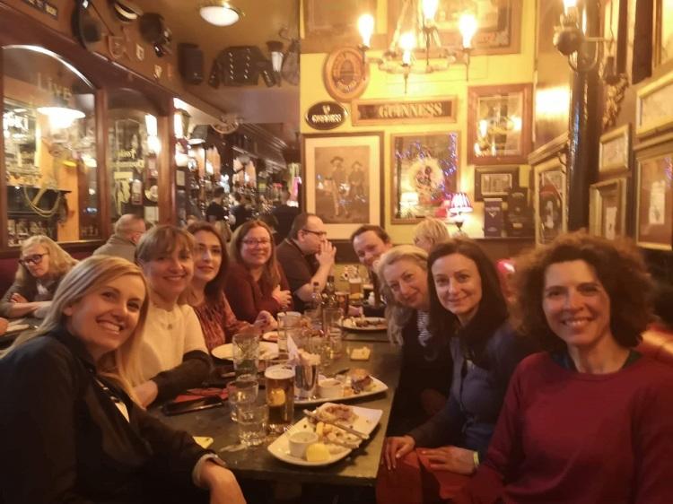 Serata al Pub - Edimburgo (foto by Giusy)