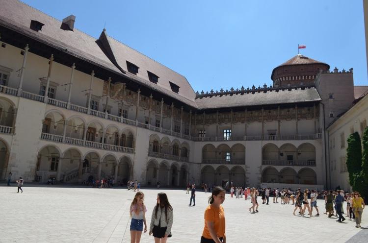 Interno Palazzo Reale di Wawel - Cracovia