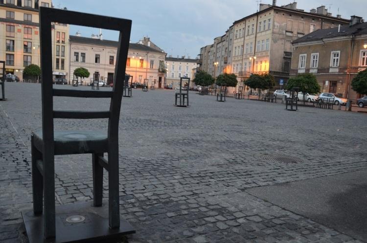 Monumento delle sedie vuote - Cracovia