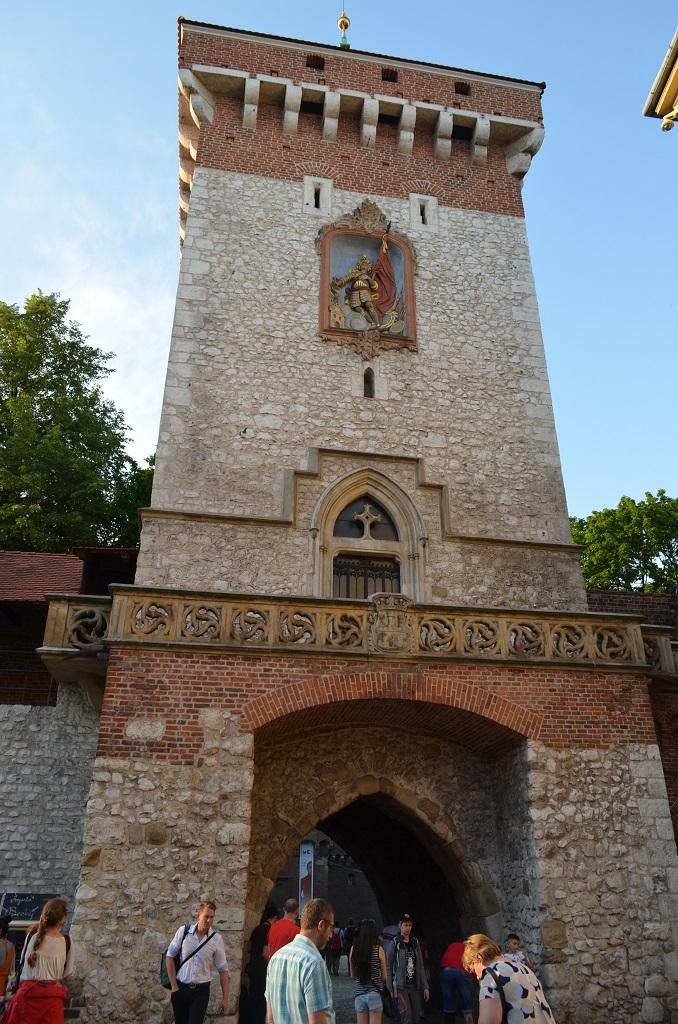Porta Florianska - Cracovia