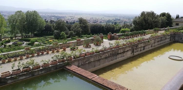 I giardini di Villa Petraia