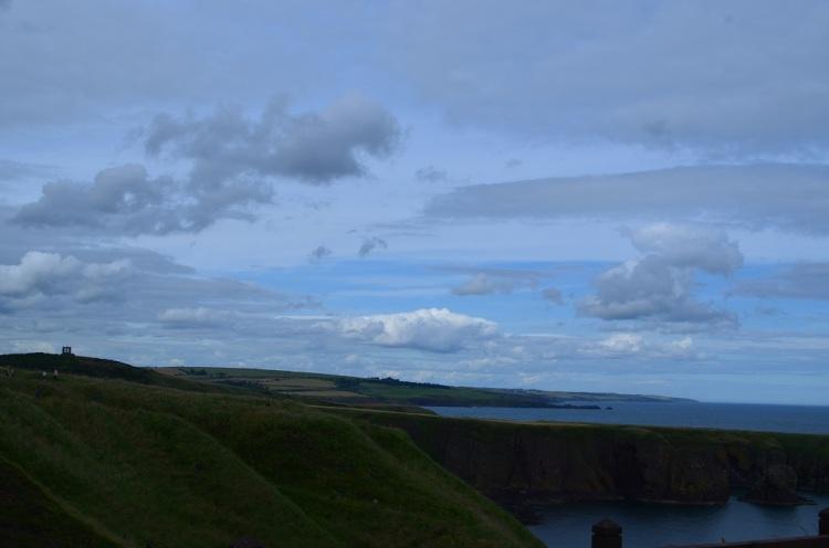Le scogliere del Castello di Dunnottar, Scotland