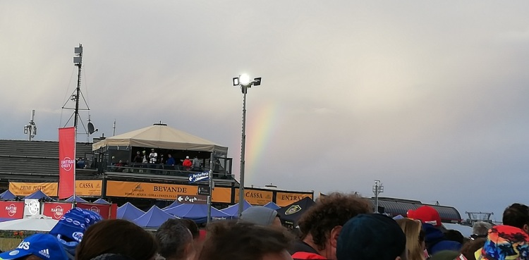 L' arcobaleno finale