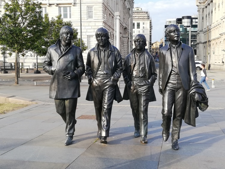 Statua dei Beatles - Liverpool