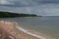il mare di fronte al Castello Dunrobin