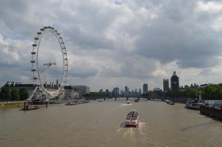 Il tamigi - Londra