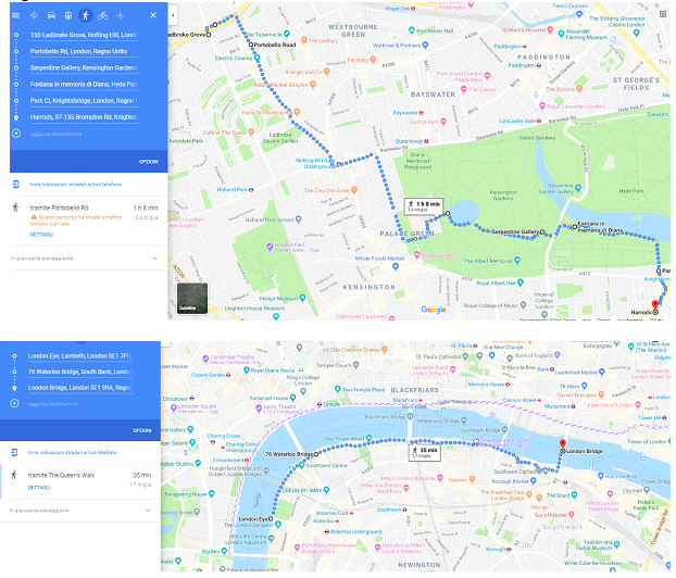 London maps -2 day