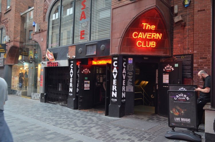 The Cavern club-  Liverpool