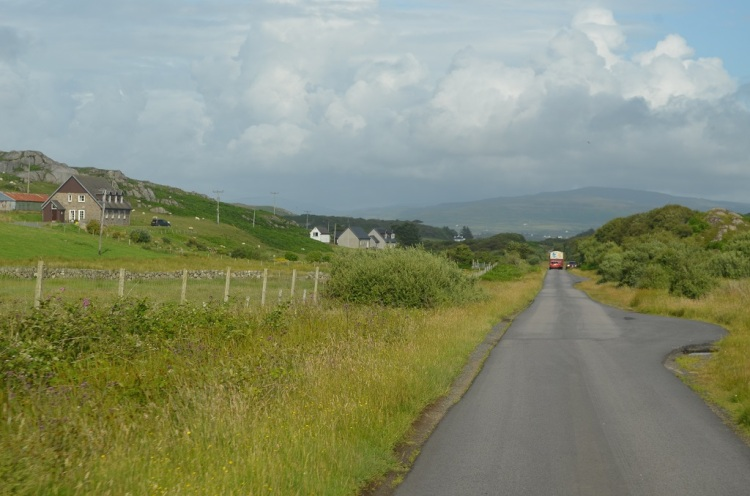 Passing place - Isle of Mull