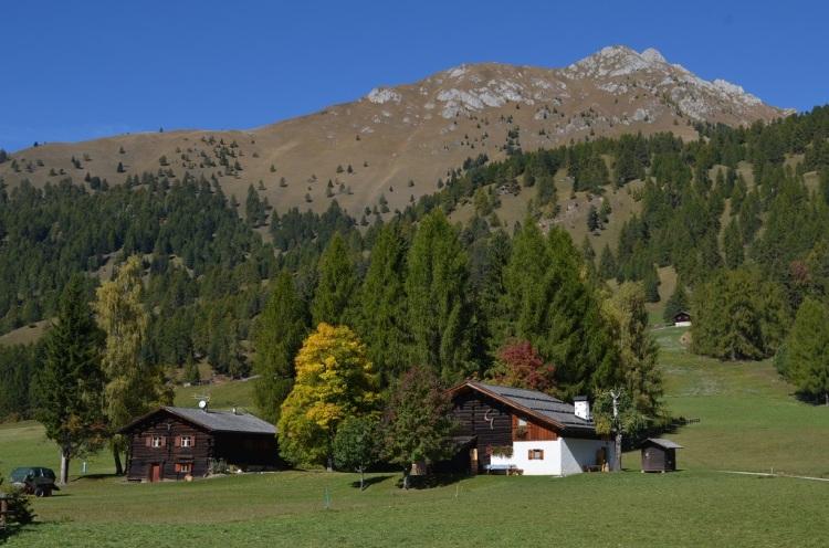 Paesaggio in Val di Fiemme