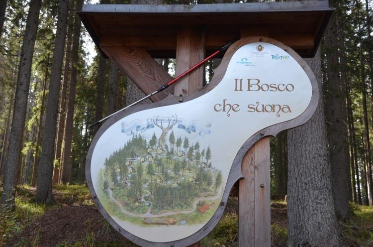 Ingresso al parco del Bosco che suona