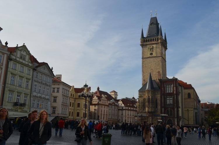 La torre del Municipio - Praga