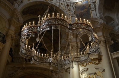 Interno di San Nicola Praga