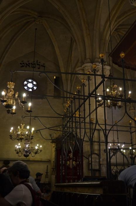 Interno Sinagoga Vecchia-Nuova - Praga