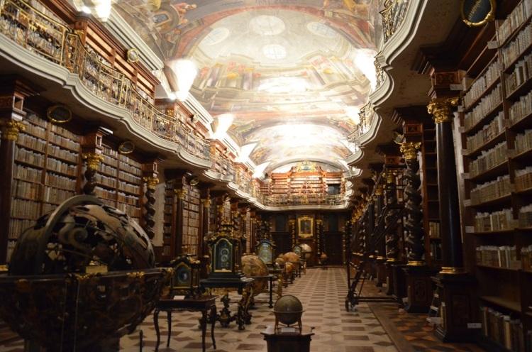 Sala della Biblioteca nel Klementinum
