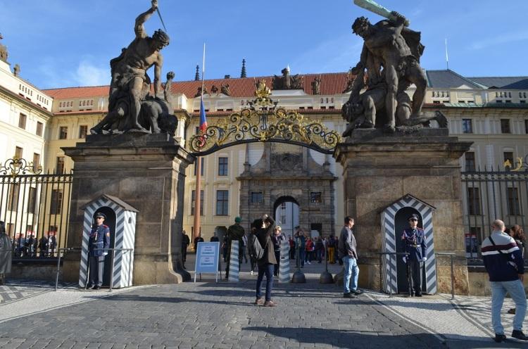 Ingresso al Castello di Praga