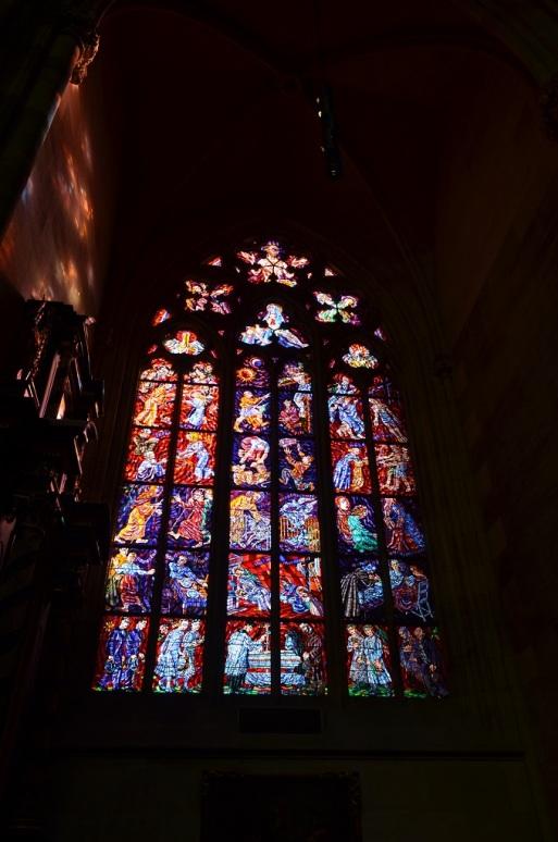 Le vetrate di San Vito - Praga