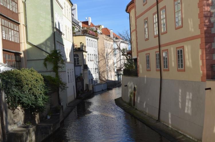 le vie d'acqua a Praga