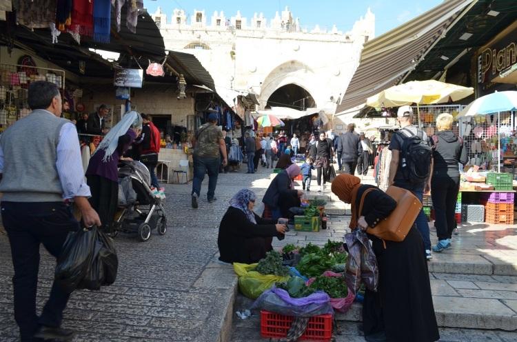 Il mercato alla porta di Damasco - Gerusalemme