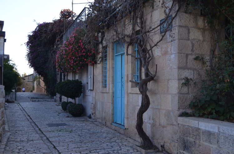 Le vie di Yemin Moshe - Gerusalemme