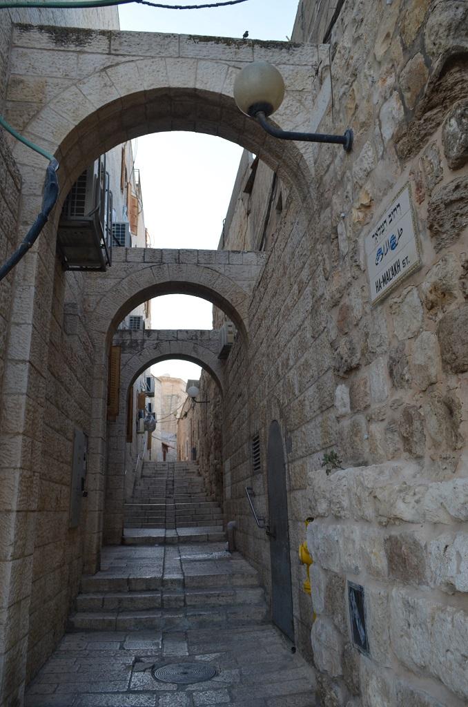 Strade quartiere Armeno - Gerusalemme