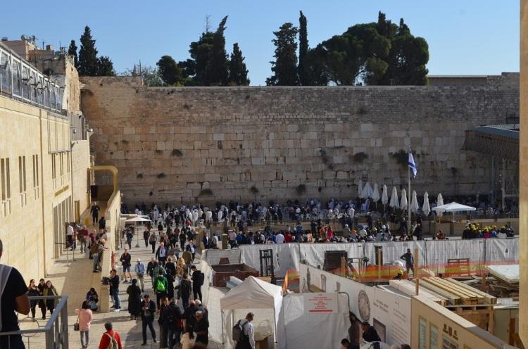 Il Muro del Pianto - Gerusalemme