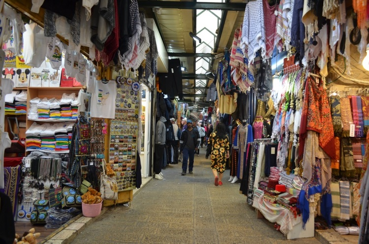 Strade old city Gerusalemme