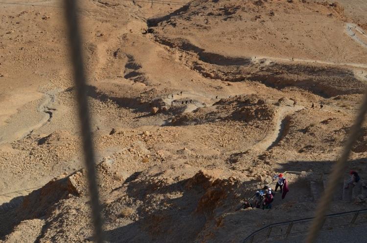Il percorso del Serpente - Masada