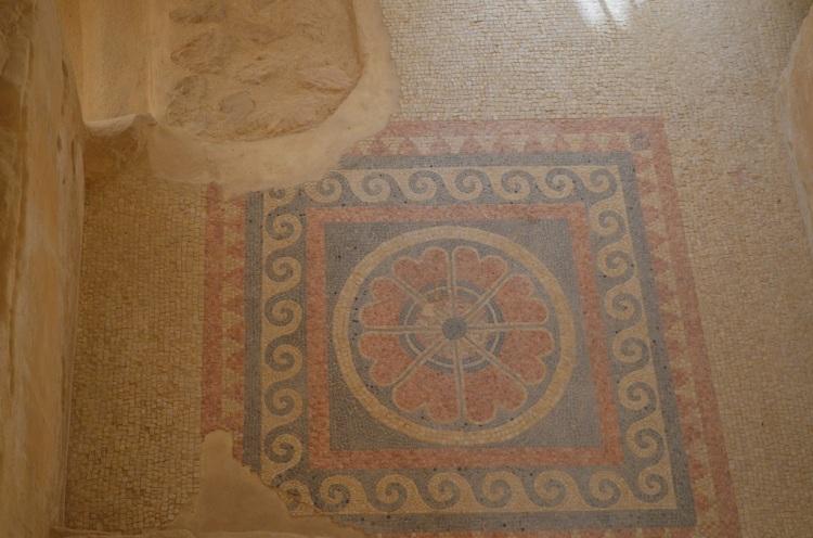 i mosaici di Masada
