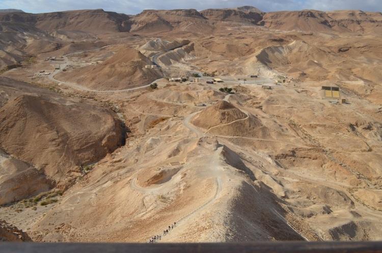 il Sentiero della Rampa d'assalto romana - Masada