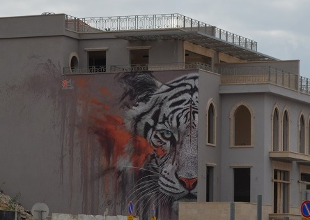 I murales di Tel Aviv