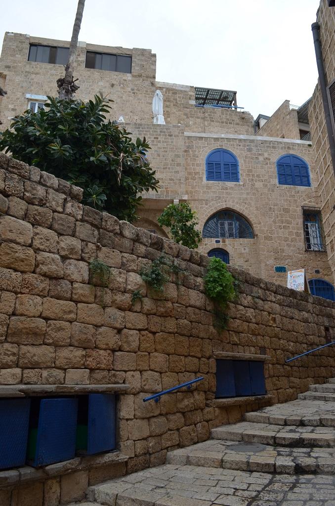 Old Jaffa .  Tel Aviv