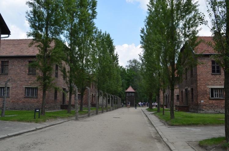 Interno di Auschwitz