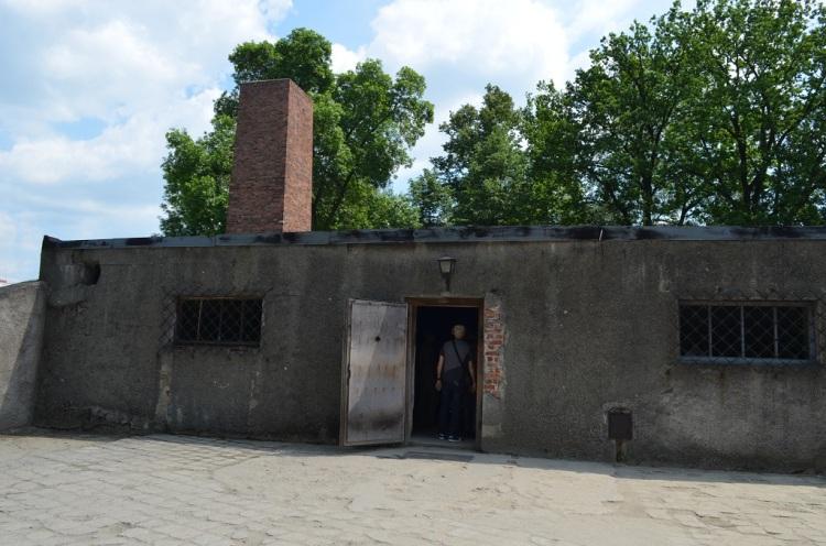 Ingresso dei forni crematori - Auschwitz