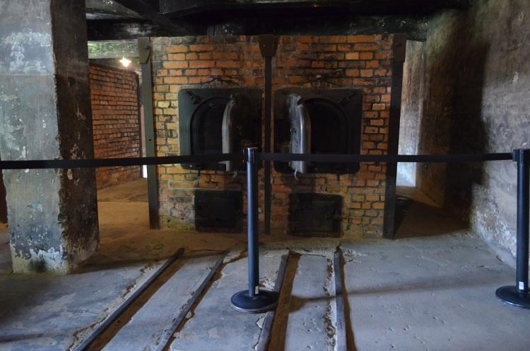 I forni crematori - Auschwitz