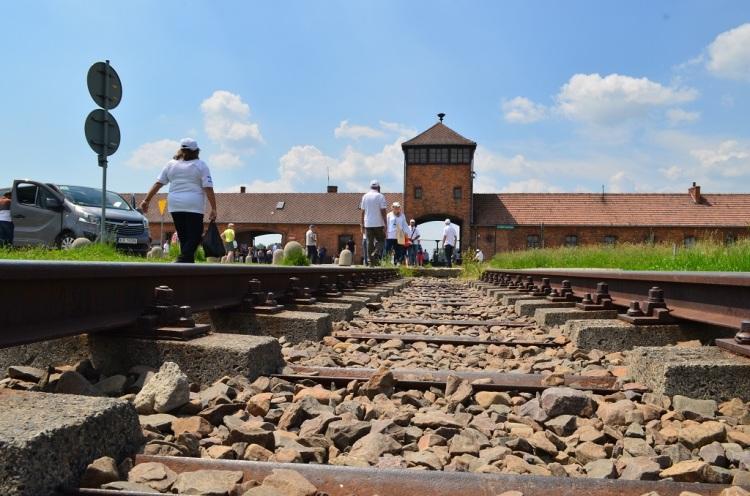 Ingresso del campo di Birkenau
