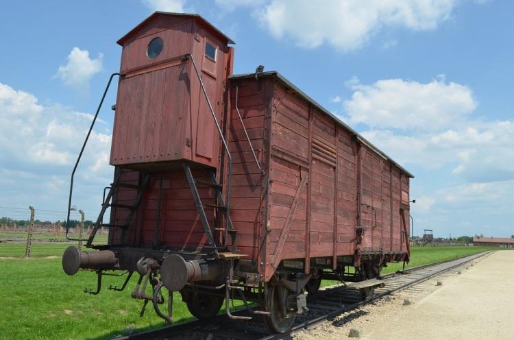 Il vagone rosso -Birkenau