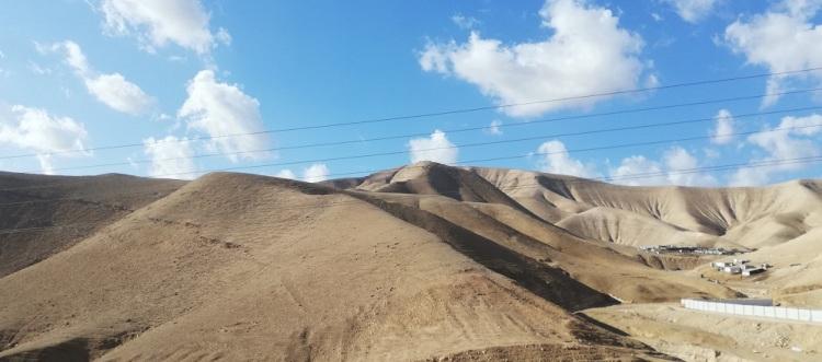 Sulla strada n. 1 in direzione Mar Morto