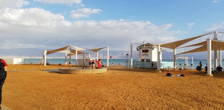 la spiaggia di Ein Bokek