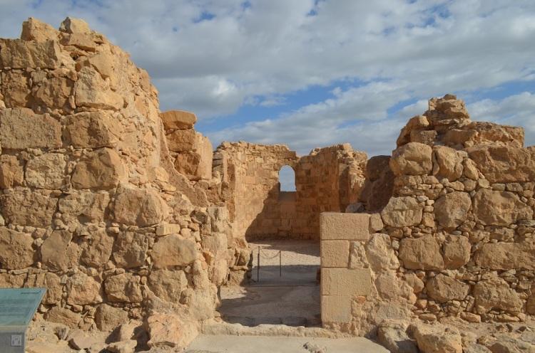 Masada la chiesa bizzantina