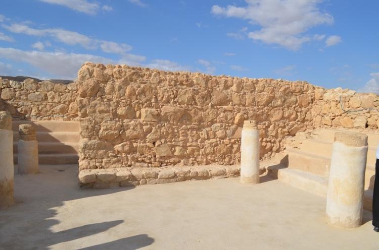 Masada - la Sinagoga