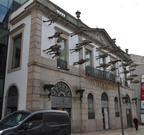 Centro commerciale in Rua Santa Caterina - Porto